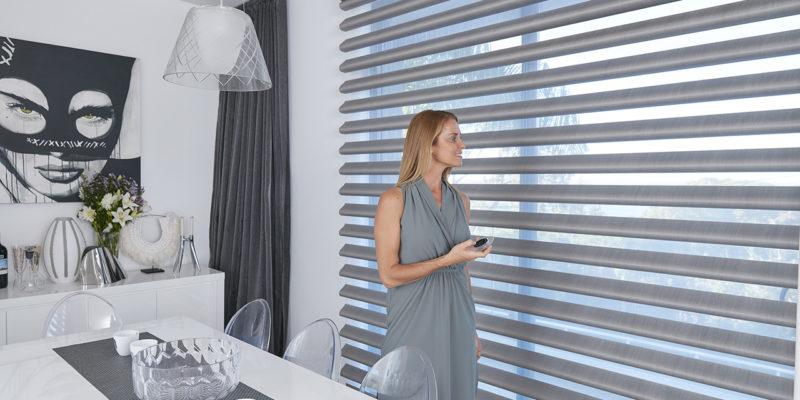 Luxaflex motorised window coverings